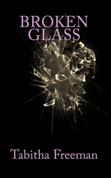 broken glass book cover