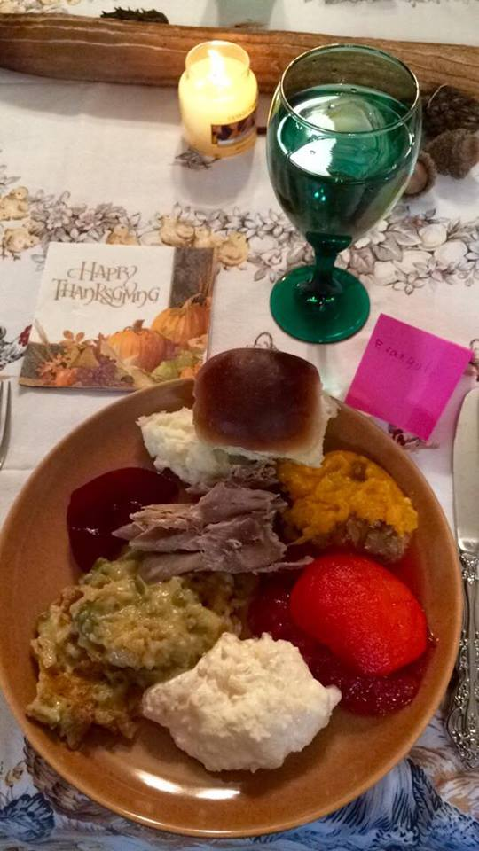 thanksgiving 2015 meal